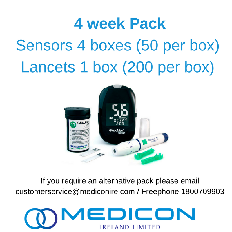 04 Weeks Gestational Diabetes Blood Glucose Monitoring Pack