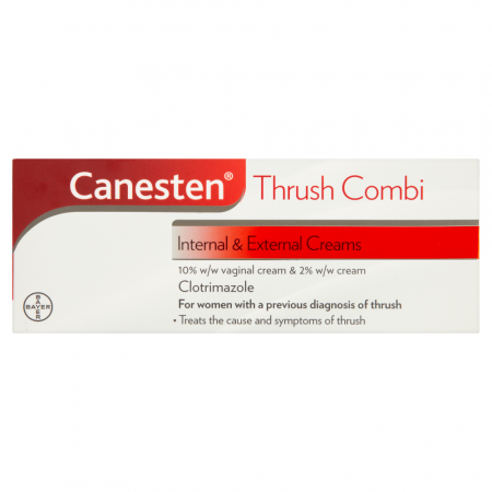 Canesten Internal & External Creams Thrush Combi