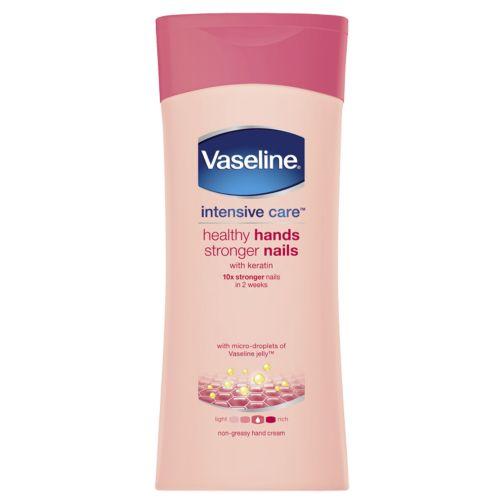 Vaseline Intensive Care Healthy Hands Stronger Nails 200ml