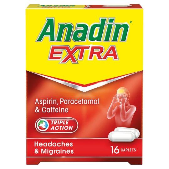 Anadin Extra Caplets 8s