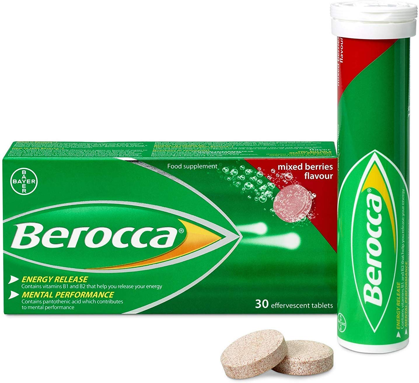 BEROCCA vitamin B effervescent tablets