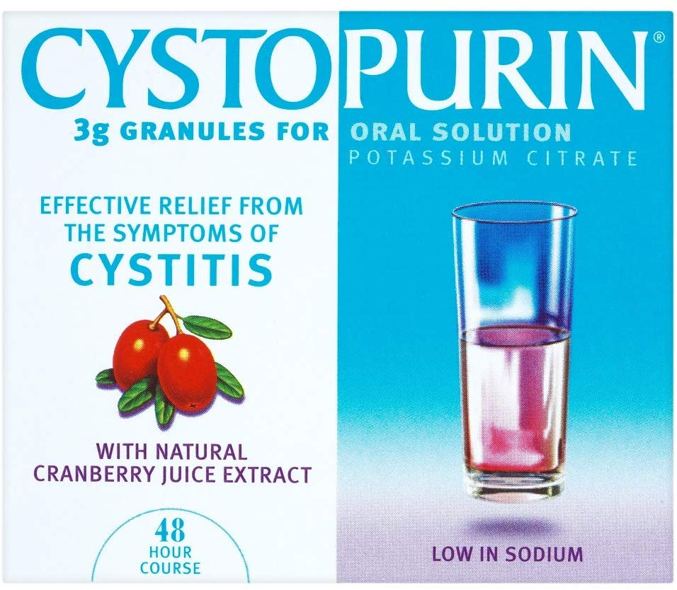 CYSTOPURIN cranberry granules 3g
