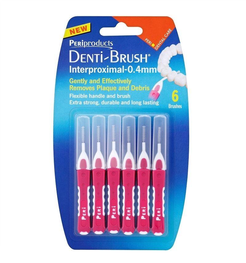 Denti Brush Interproximal Pink 0.4mm