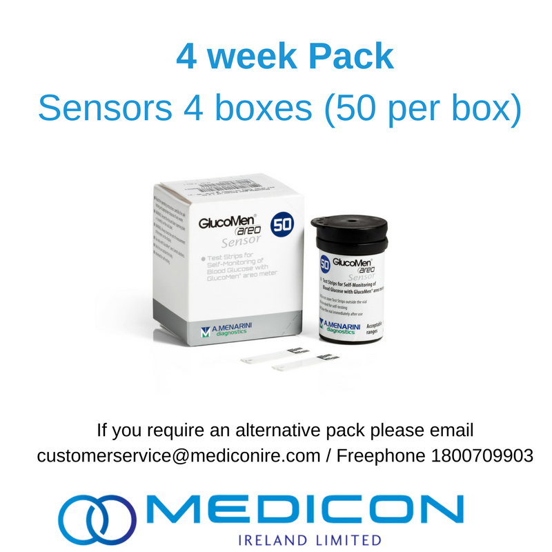 04 Weeks Gestational Diabetes Blood Glucose Monitoring Pack - Excluding Lancets
