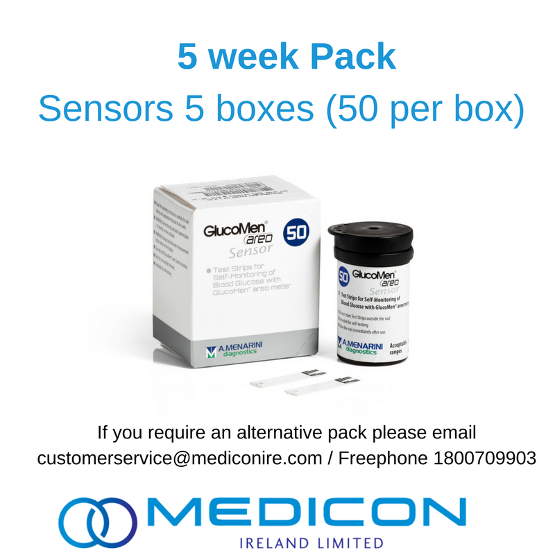 05 Weeks Gestational Diabetes Blood Glucose Monitoring Pack - Excluding Lancets