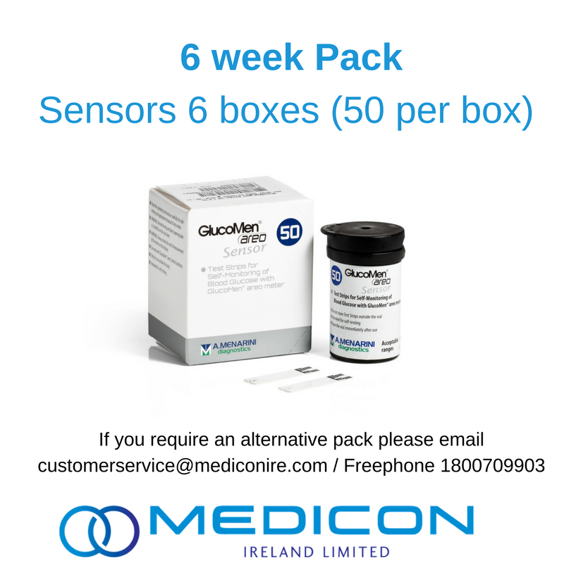06 Weeks Gestational Diabetes Blood Glucose Monitoring Pack - Excluding Lancets