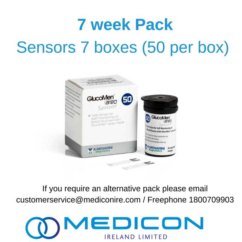 07 Weeks Gestational Diabetes Blood Glucose Monitoring Pack - Excluding Lancets