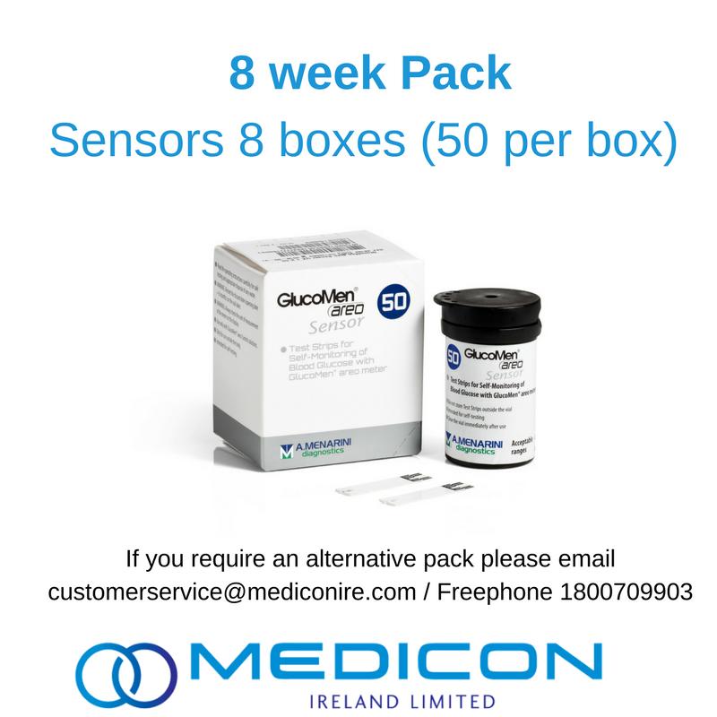 08 Weeks Gestational Diabetes Blood Glucose Monitoring Pack - Excluding Lancets