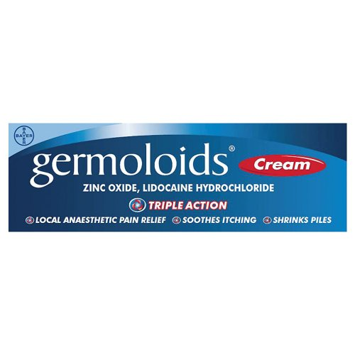 Germoloids Triple Action Cream 55g