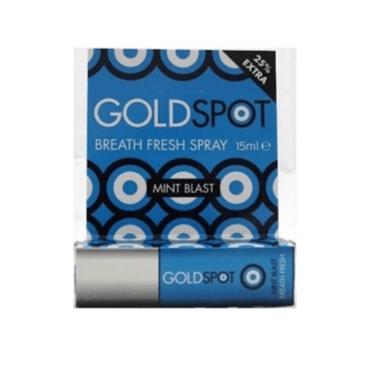 Gold spot blue mint blast 15ml
