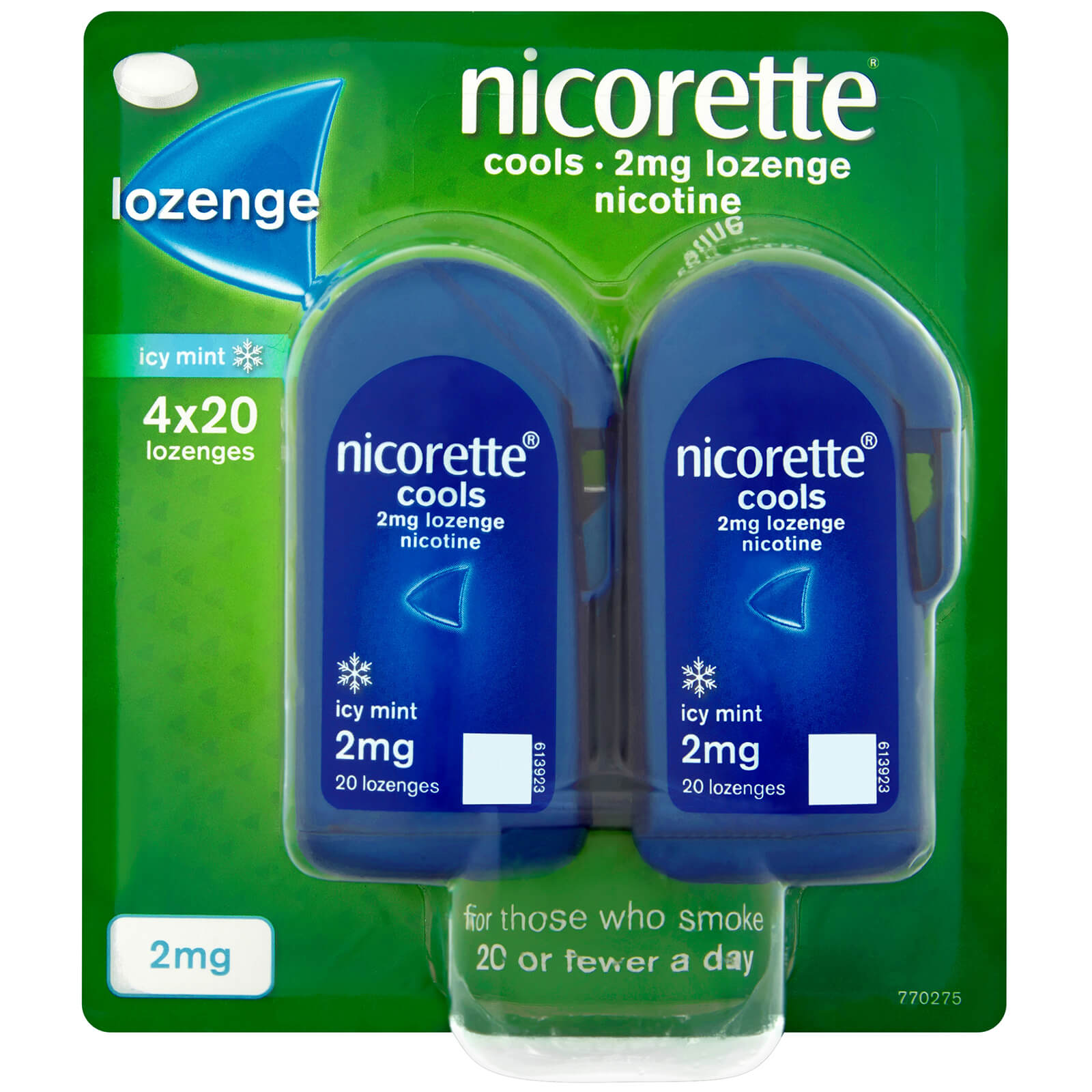 Nicorette Cools 2mg Lozenge 80s Icy Mint