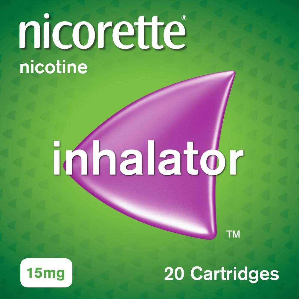 Nicorette Inhalator 15mg 20 pack