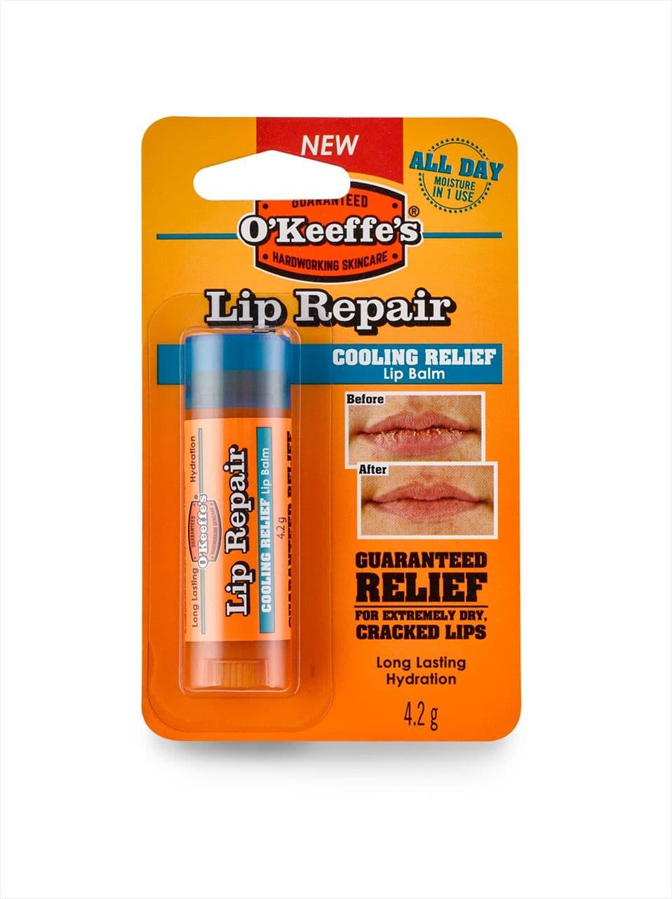 O'Keeffe's Lip Repair Lip Balm Cooling Relief