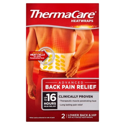 Thermacare Lower Back and Hip Heatwraps 2