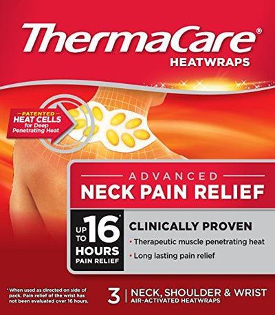 Thermacare Neck, Shoulder and Wrist Heatwraps 3