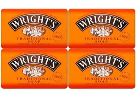 Wrights Traditional Soap 4 X125g