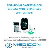 Gestational Diabetes Blood Glucose Monitoring Pack