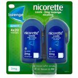 Nicorette Cools 2mg Lozenge 80s Icy Mint